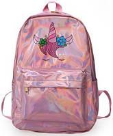 Рюкзак молодежный Unicorn pink, фото 1