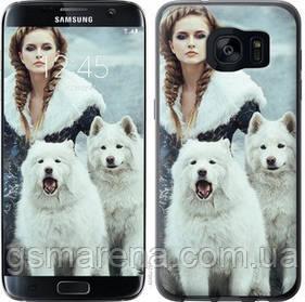 Чехол на Samsung Galaxy S7 Edge G935F Winter princess