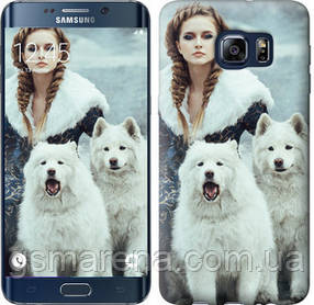 Чехол на Samsung Galaxy S6 Edge Plus G928 Winter princess