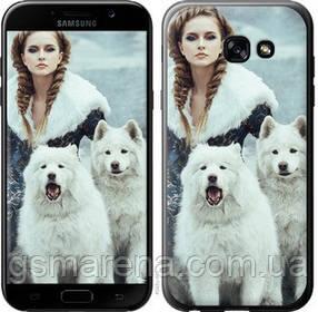 Чехол на Samsung Galaxy A5 (2017) Winter princess