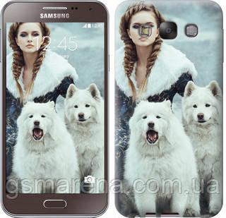 Чехол на Samsung Galaxy E7 E700H Winter princess , фото 2