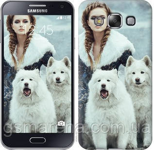 Чехол на Samsung Galaxy E5 E500H Winter princess