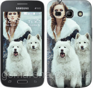 Чехол на Samsung Galaxy Core Plus G3500 Winter princess