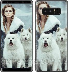 Чехол на Samsung Galaxy Note 8 Winter princess