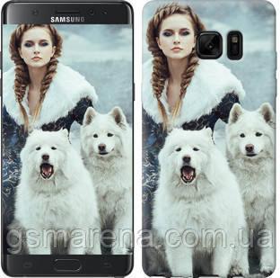 Чехол на Samsung Galaxy Note 7 Duos N930F Winter princess , фото 2