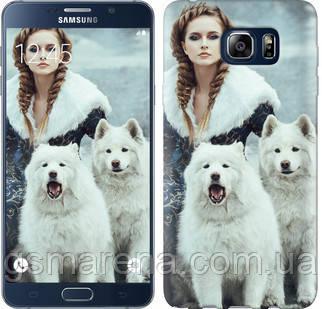 Чехол на Samsung Galaxy Note 5 N920C Winter princess , фото 2