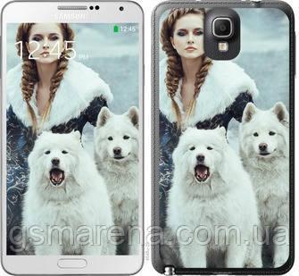 Чехол на Samsung Galaxy Note 3 N9000 Winter princess , фото 2
