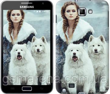 Чехол на Samsung Galaxy Note i9220 Winter princess , фото 2