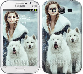 Чехол на Samsung Galaxy Grand I9082 Winter princess , фото 2