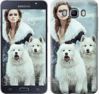Чехол на Samsung Galaxy J7 (2016) J710F Winter princess , фото 2