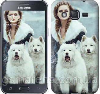 Чехол на Samsung Galaxy J2 J200H Winter princess , фото 2