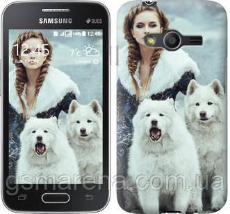 Чехол на Samsung Galaxy Ace 4 G313 Winter princess , фото 2