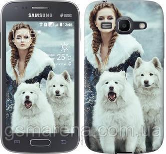 Чехол на Samsung Galaxy Ace 3 Duos s7272 Winter princess , фото 2