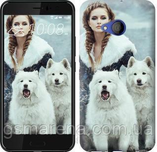 Чехол на HTC U11 Life Winter princess , фото 2