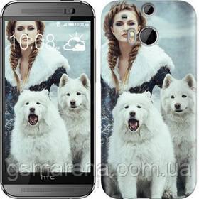 Чехол на HTC One M8 Winter princess