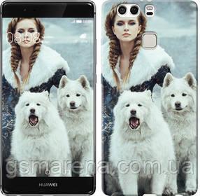 Чехол на Huawei P9 Plus Winter princess