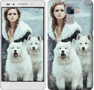 Чехол на Huawei Honor 7 Winter princess