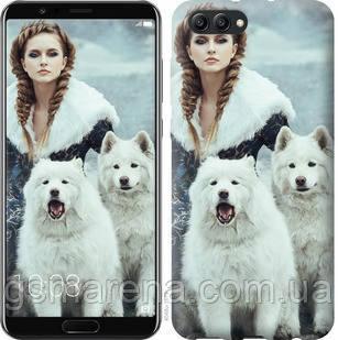 Чехол на Huawei Honor V10 / View 10 Winter princess