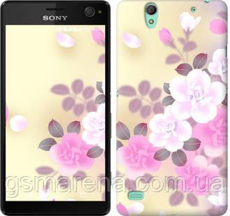 Чехол на Sony Xperia C4 E5333 Японские цветы