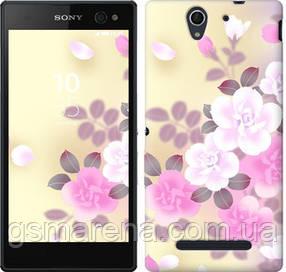 Чехол на Sony Xperia C3 D2502 Японские цветы