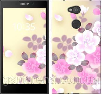 Чехол на Sony Xperia L2 H4311 Японские цветы , фото 2