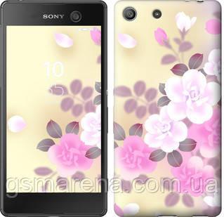 Чехол на Sony Xperia M5 E5633 Японские цветы , фото 2