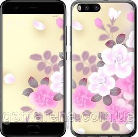 Чехол на Xiaomi Mi Note 3 Японские цветы