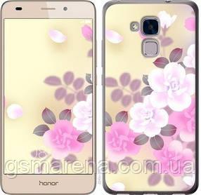 Чехол на Huawei Honor 5C Японские цветы