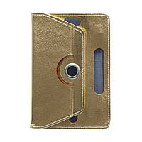 "Чехол-книжка ZBS Flat Leather для Apple iPad 7"" Gold (21235)"