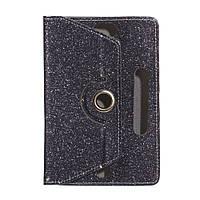 """Чехол-книжка ZBS Gliter для Apple iPad 7"""" Steel (21233)"""
