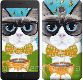Чехол на Lenovo Vibe P2 Cat&Coffee