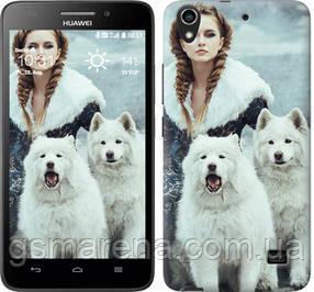 Чехол на Huawei Honor 4 Play Winter princess