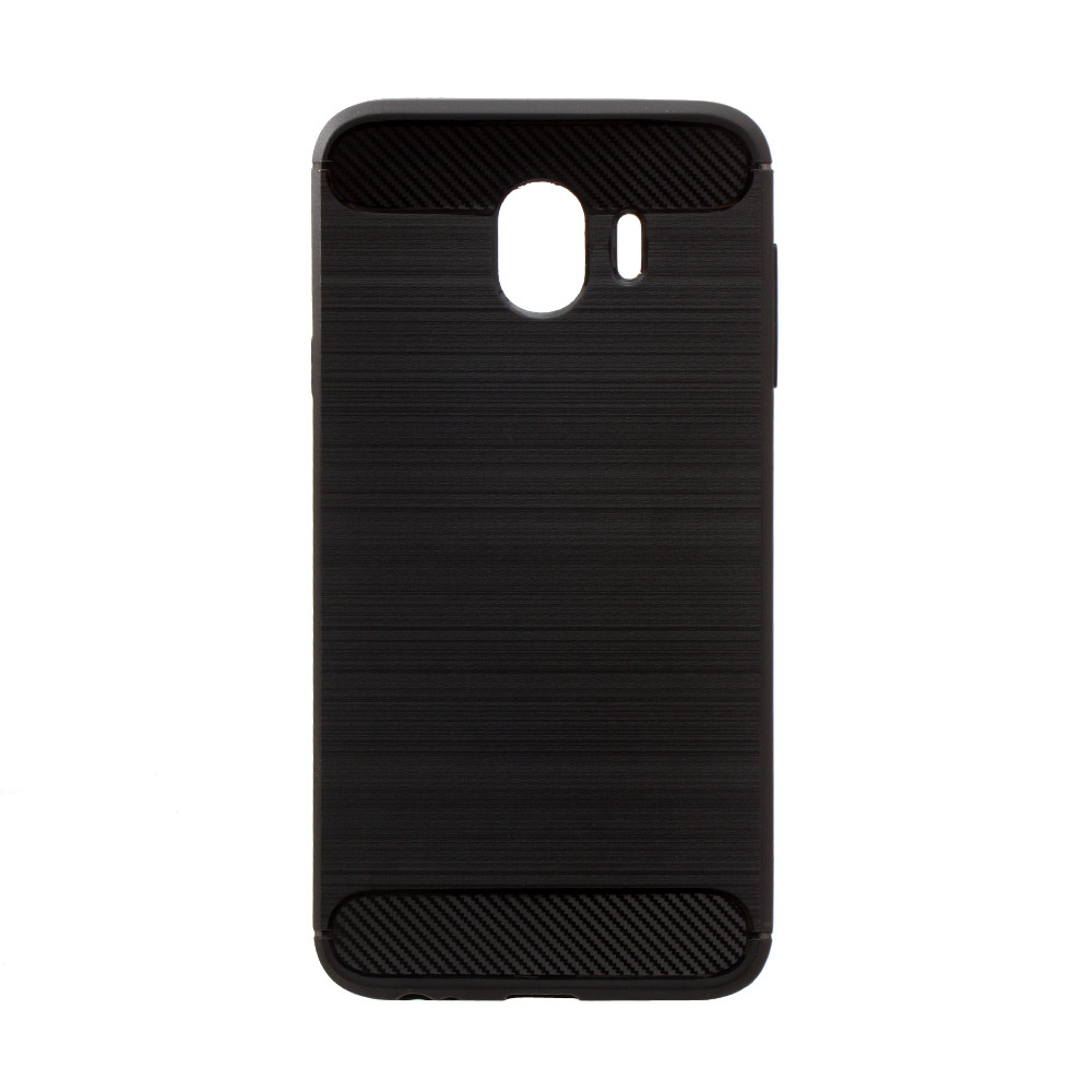 Панель ZBS Polished Carbon для Samsung J4 2018 Black (21285)