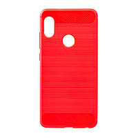 Панель ZBS Polished Carbon для Xiaomi Redmi Note 5/Pro Red (21283)