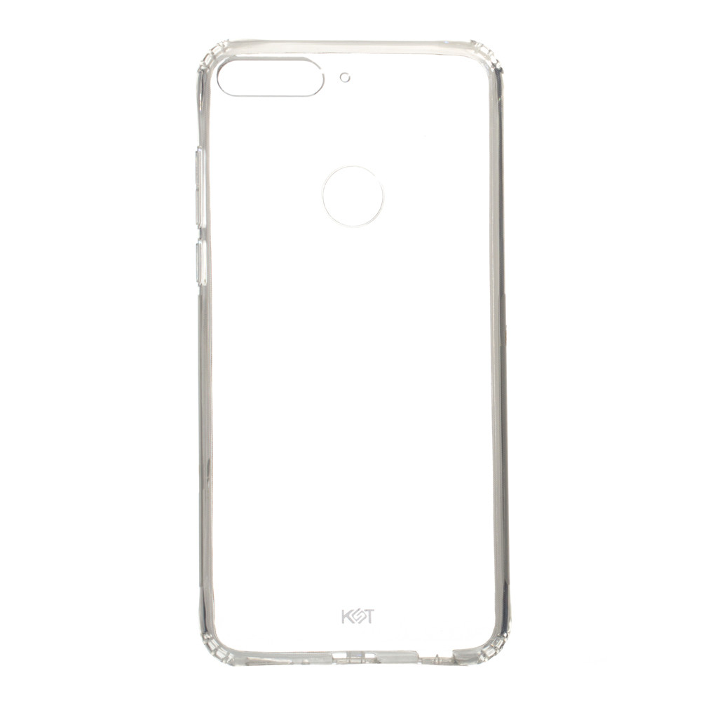 Панель ZBS Силикон KST для Huawei Y7 2018 Transparent (20947)