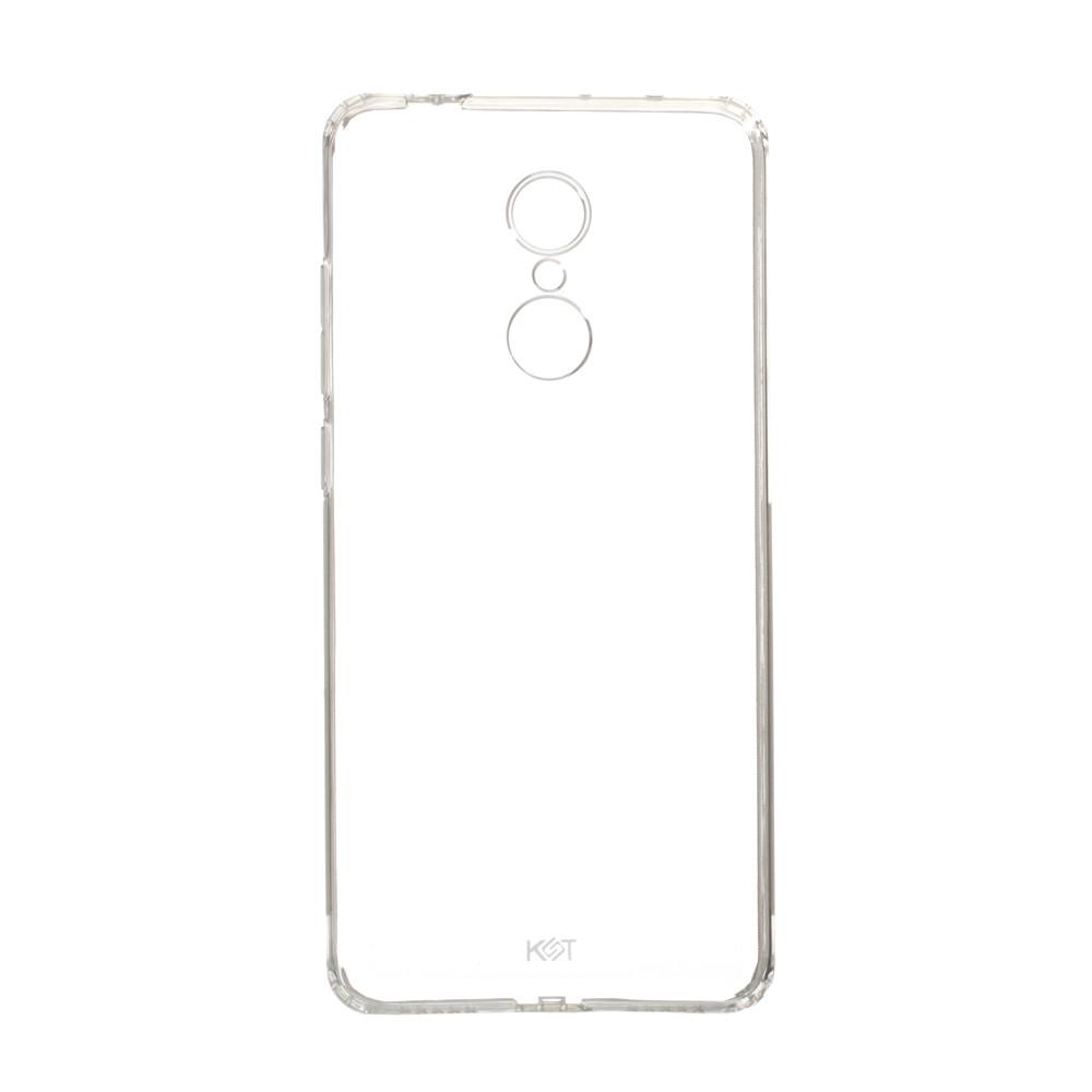 Панель ZBS Силикон KST для Xiaomi Redmi 5 Transparent (20940)