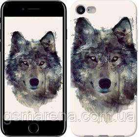 Чехол на iPhone 8 Волк-арт