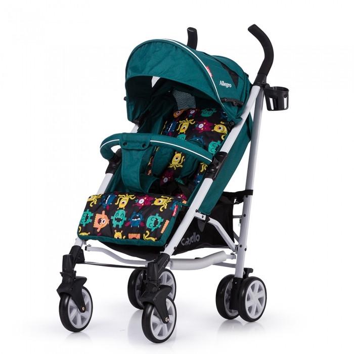 Прогулочная коляска-трость Carrello Allegro Len Monster Green Turquoise (CRL-10101/1L)