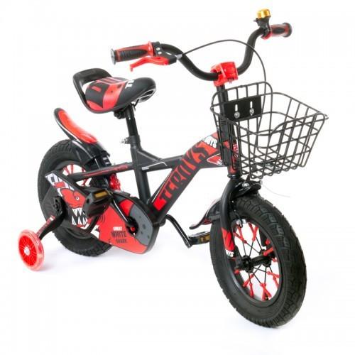"""Велосипед AL Toys 12"""" TZ-007 Black/Red (TZ-007)"""