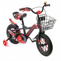"""Велосипед AL Toys 12"""" TZ-007 Black/Red (TZ-007), фото 1"""