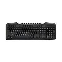 Клавиатура проводная ZBS KB-08X Black (KB-08X)