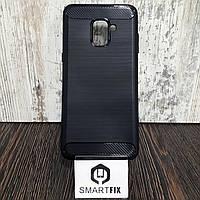 Противоударный чехол для Samsung A8 Plus 2018 (A730)  Ultimate Черный