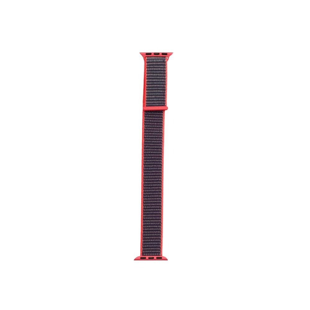 Ремешок ZBS Apple Watch Nylon Loop 42mm Electric Pink 03 (19870)
