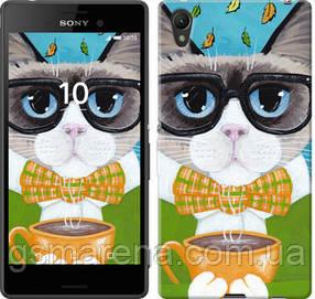 Чехол на Sony Xperia Z3+ Dual E6533 Cat&Coffee