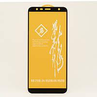 Защитное стекло RB 6D Full Glue для Samsung J6 Plus 2018 / J610 полноэкранное черное