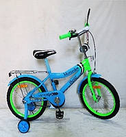 "Велосипед DT 20"" Blue-Lime Green (182038)"