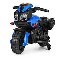 Мотоцикл Bambi M 3832L-2-4 Blue (M 3832L), фото 1