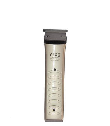 Тример портативна машинка для стрижки бороди і волосся ROZIA HQ-228, фото 2
