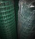 Сетка сварная 2*10 м ячейка 50*100 мм оцинкованная в ПВХ покрытии, 2 мм толщина, фото 4