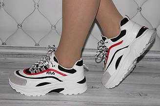 Женские кроссовки в стиле Fila(копия)
